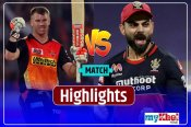 SRH vs RCB, Highlights: लगातार दूसरे रोमांचक मैच में जीती आरसीबी, हैदराबाद को 6 रन से हराया