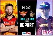 IPL 2021 SRH vs KKR: नाइट राइडर्स की विजयी शुरुआत, 10 रनों से हारे सनराइजर्स