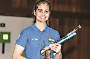 यूथ ओलंपिक: 10 मी एयर पिस्टल में भारत की मनु भाकर को गोल्ड मेडल