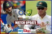 INDvsAUS,Adelaide Test : चौथे दिन का खेल खत्म , ऑस्ट्रेलिया ने बनाए 104/4