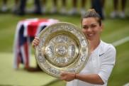 सिमोना हालेप ने सेरेना विलियम्स को हराकर पहली बार जीता विंबलडन खिताब
