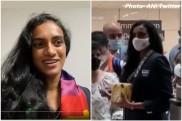 मेडल जीतकर आईं पीवी सिंधु का दिल्ली में शानदार स्वागत, वतन लौटते ही कही ये बात- VIDEO