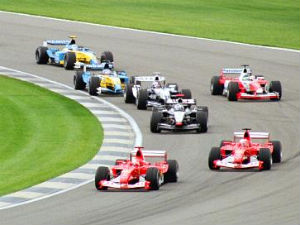 Formula One Final Day Race Starts Aid