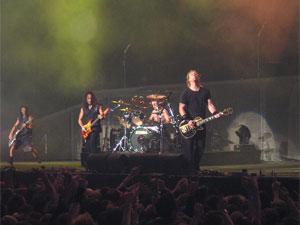 Metallica Concert Police Arrest Members Organizing Team Aid