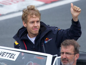 Sebastian Vettel Moves Ahead Final Practice Aid