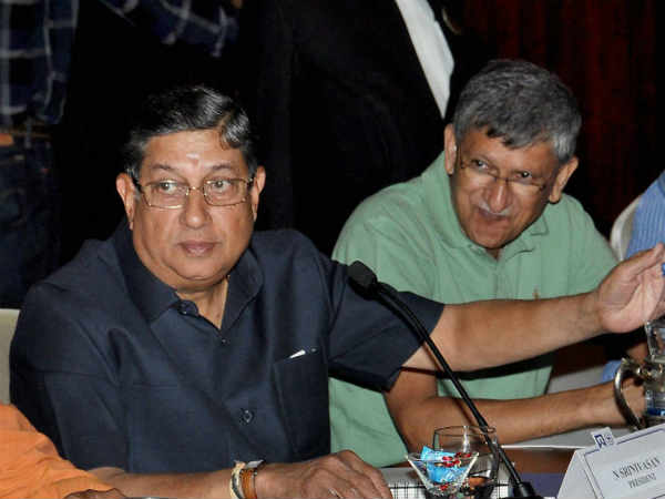 Sports Srinivasan Ready To Quit But Conditions Apply