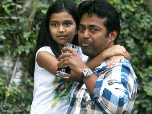 Leander Paes Has Been Charged Ria Not Bring His Daughter Away
