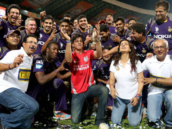 Shahrukh Khan Celebrates Kings Xi Jersey As Kkr Win Ipl
