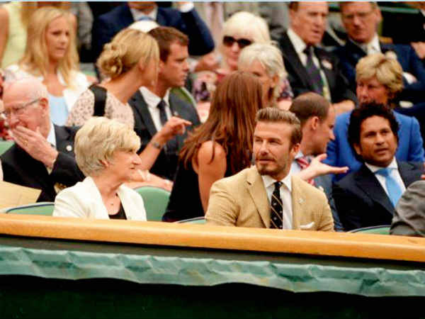 From Sachin Tendulkar To David Beckham Everyone Is There At Wimbledon