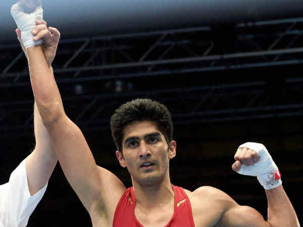 Indian Boxers Reach Into Cwg Finals Vijender Singh Is Leading Boxing Team In Glasgow