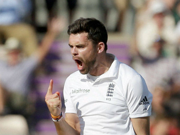 150 या उससे ज्यादा टेस्ट मैच खेलने वाले नौंवे खिलाड़ी बने जेम्स एंडरसन