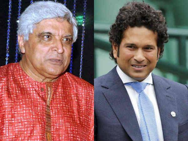 """Javed Akhtar said, """"Membership of Parliament is not a trophy, Sachin should come to Parliament."""""""