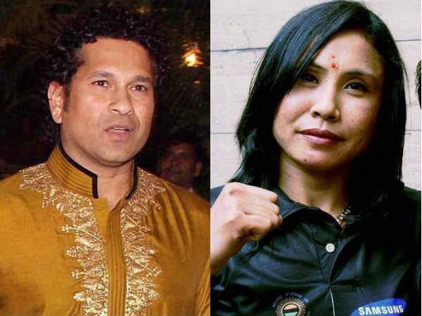 Sachin Tendulkar Backs Sarita Devi Writes Sports Ministry