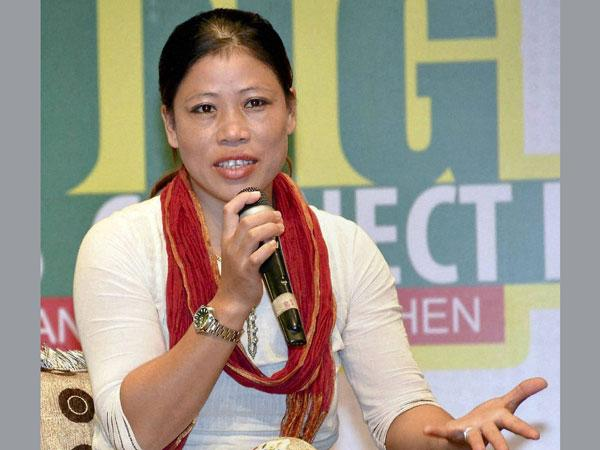 If Fear Stays May Leave Manipur Mary Kom