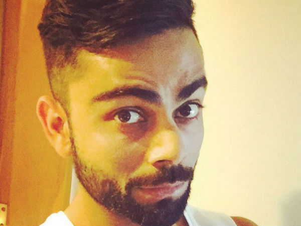 Style Or Tottka Captain Virat Kohli Posted Photo On Instagram Of New Hairstyle