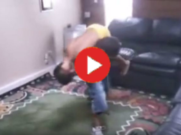Video Two Kids Exposes The Reality Of Wwe Fight Video Goes Viral