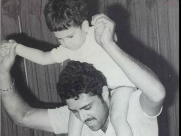 Angad Bedi Shares Rare Childhood Photo Cricketer Yuvraj Singh