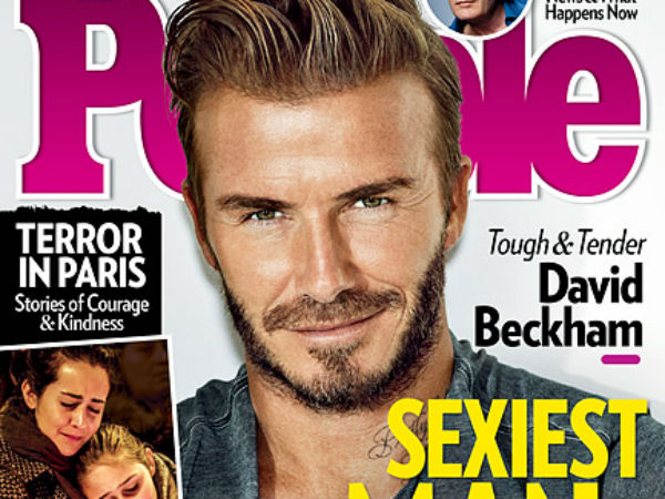 David Beckham Is People S Sexiest Man Alive