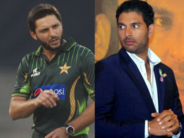 Yuvraj Singh Sends Video Message To Shahid Afridi Says He Has A Tender Heart