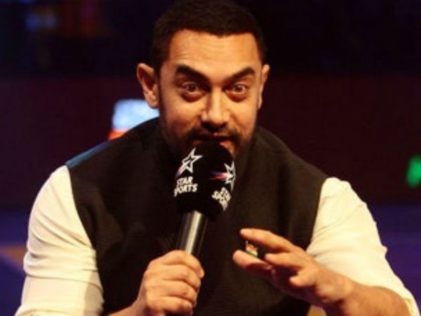 Aamir Khan Sings National Anthem Pro Kabaddi 2016 Season Video