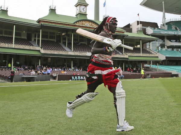 Semi Nude Cricket Players Played A Match In Sydney