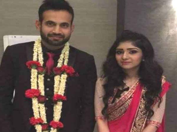 Pics Newly Married Couple Irfan Pathan Safa Mirza
