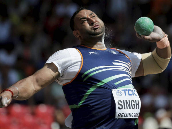Indian Shot Putter Indrajeet Singh Fails Dope Test