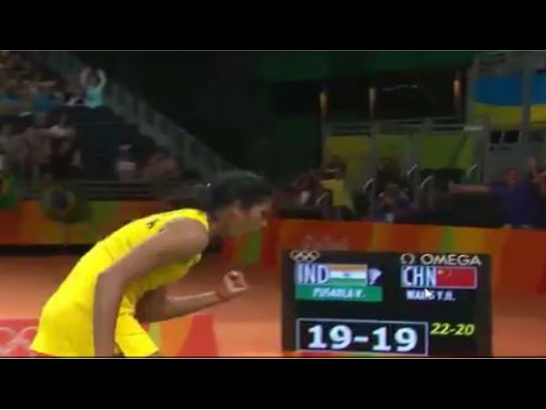 Video What A Finish Watch Pv Sindhus Winning Moment
