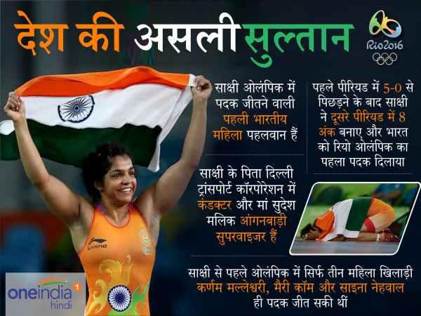 Rio Olympics First Medal Winner Indias Sakshi Malik Tells The Secret