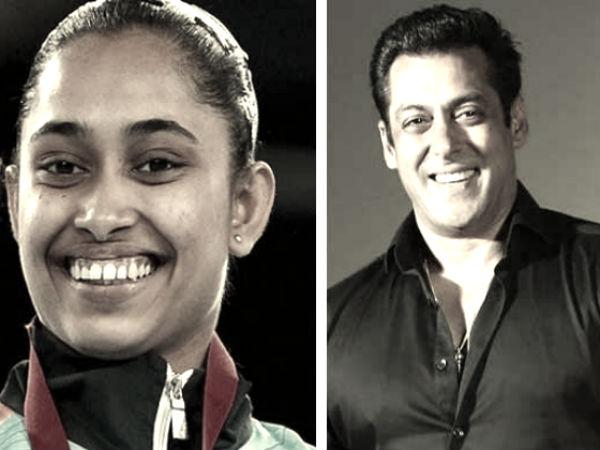 Salman Khan, IOA Goodwill Ambassador, forgets Dipa Karmakars name