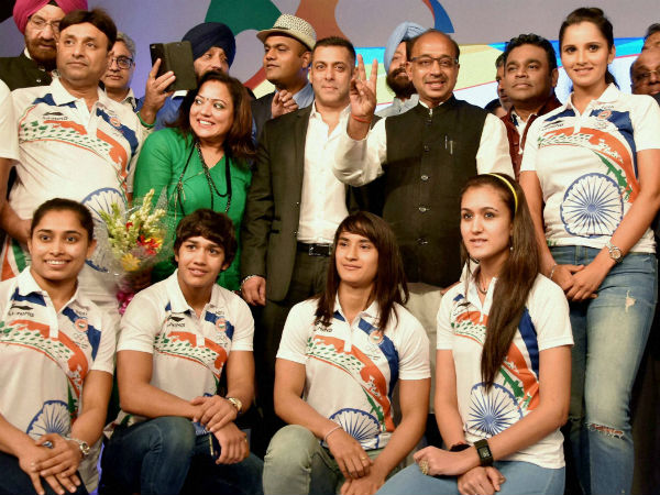 Salman Khan Tweets Offering Rs 1 Lakh Each Indian Olympian