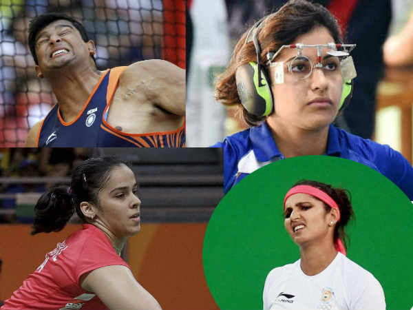 Shocking Tops Report India Expenses In Rio Olympics On Athletes