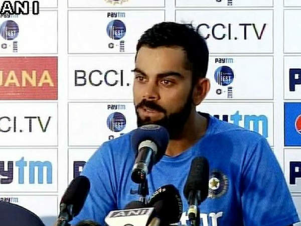 500 and 1000 rupee ban : Virat kohli speaks on demonetisation before 2nd test match against england in vishakhapatnam; supports pm modi decision