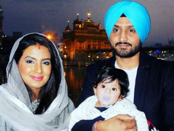 Harbhajan Singh Geeta Basra S Daughter Makes Her First Public Appearance