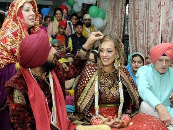 Hazel Keech Changed Her Name To Gurubasant Kaur After Marriage with Yuvraj Singh