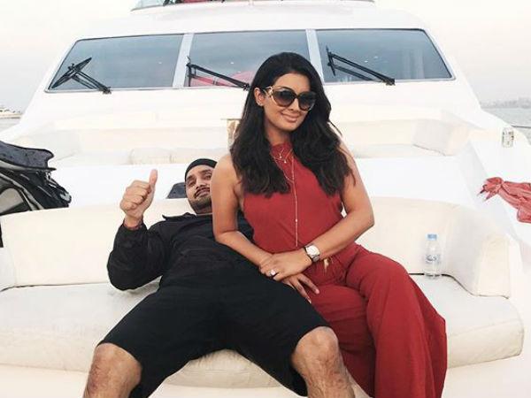 Harbhajan Singh Wife Geeta Basra Enjoy Romantic Get Away A Yacht