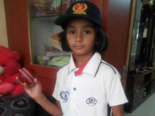 Year Old Anadi Tagde Selected Indore Under 19 Cricket Team