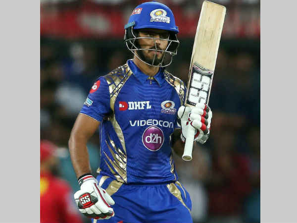 Ipl 2017 Mi S Nitish Rana Surpasses Chris Gayle Ab De Villiers Warner