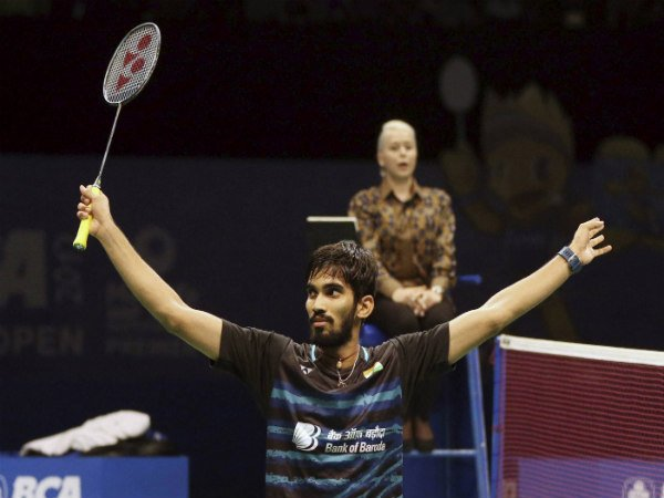 Kidambi Srikanth beats Kenta Nishimoto to win French Open Super Series title