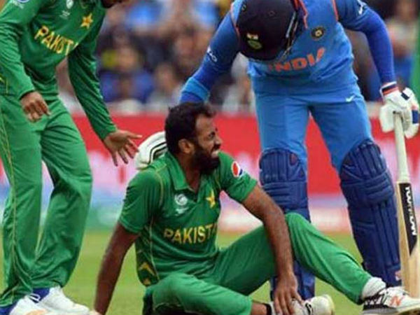 Champions Trophy Used Pakistan Pacer Wahab Riaz Put Up Sale On Ebay