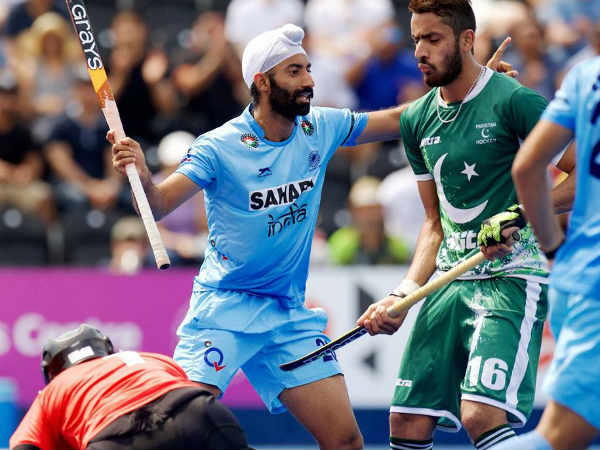 Hockey Team India Wears Black Ribbon Against Pakistan In Protest Of Firing At Border