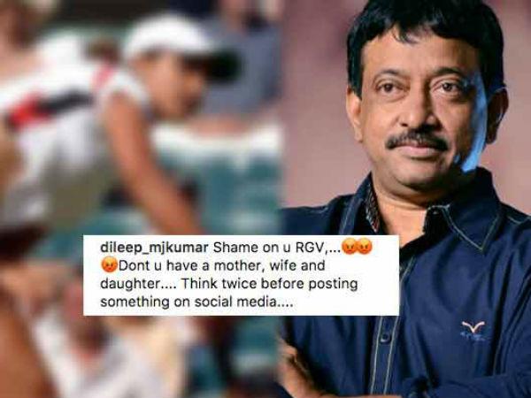 Ram Gopal Varma Shared Vulgar Picture Sania Mirza Read His Dirty Tweets