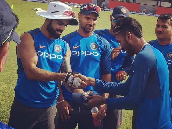 India Vs Sri Lanka First Test Hardik Pandya Makes Record With His Test Debut