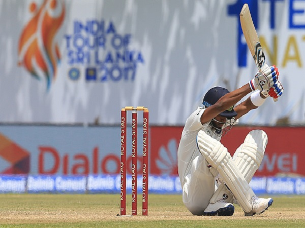 India Sri Lanka Series Hardik Pandya Scores Second Fastest Fifty For India In Debut Test