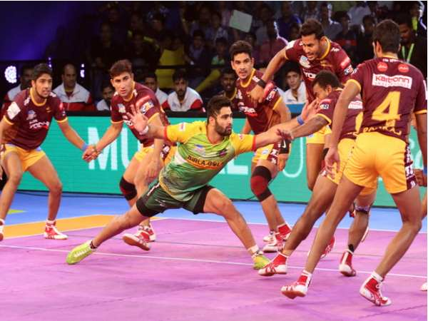 Pro Kabaddi 2017 Patna Pirates Vs Up Yoddha Game Level On 27 27
