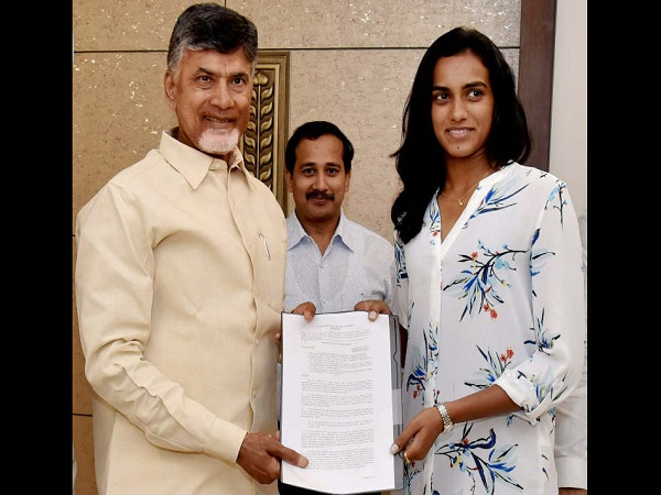 Olympic Silver Medallist Pv Sindhu Formally Took Charge As Deputy Collector In Ap Government