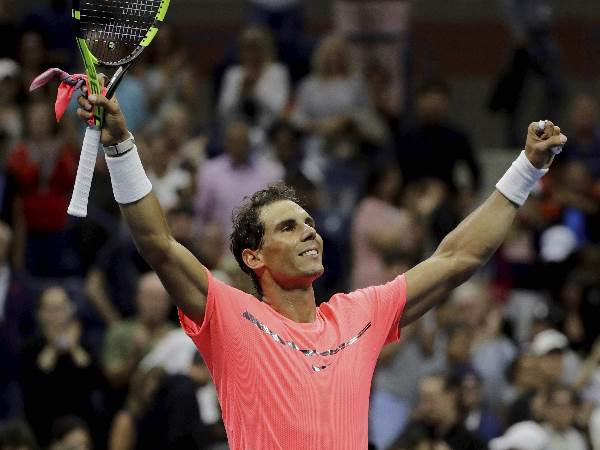 Us Open 2017 Rafael Nadal Makes It Sweet 16 With Straight Sets Win Over Kevin Anderson
