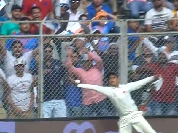 india vs new zealand 1st odi: A Ball boy wonder at the boundary ropes, signal handed catch
