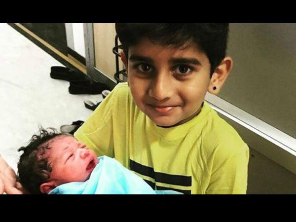 Murali Vijay Wife Nikita Welcome Third Child See Pic