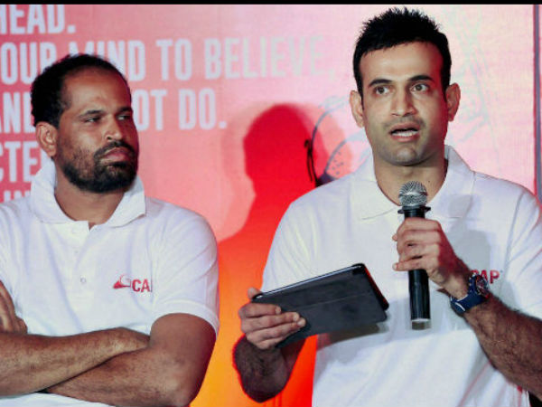 How Irfan Pathan Celebrated Brother Yusuf S Ranji Trophy Hundred Watch Video